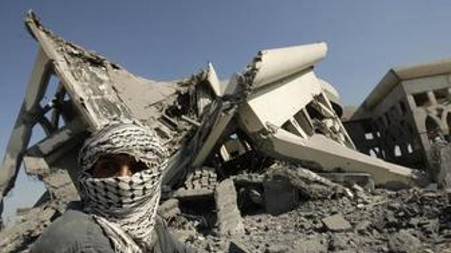 Bombardeo israelí en Gaza. (EUROPA PRESS)