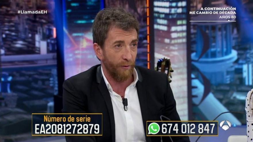 Pablo Motos busca el billete perdido