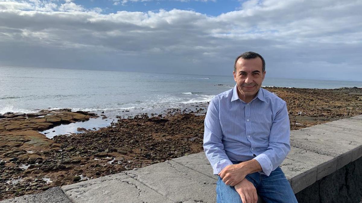 El naturalista y asesor del Cabildo de Lanzarote en materia climática, Ezequiel Navío
