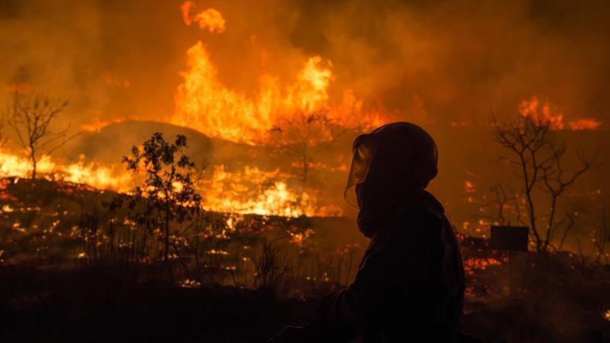 En Galicia sólo se mantiene activo un incendio en la provincia de Ourense