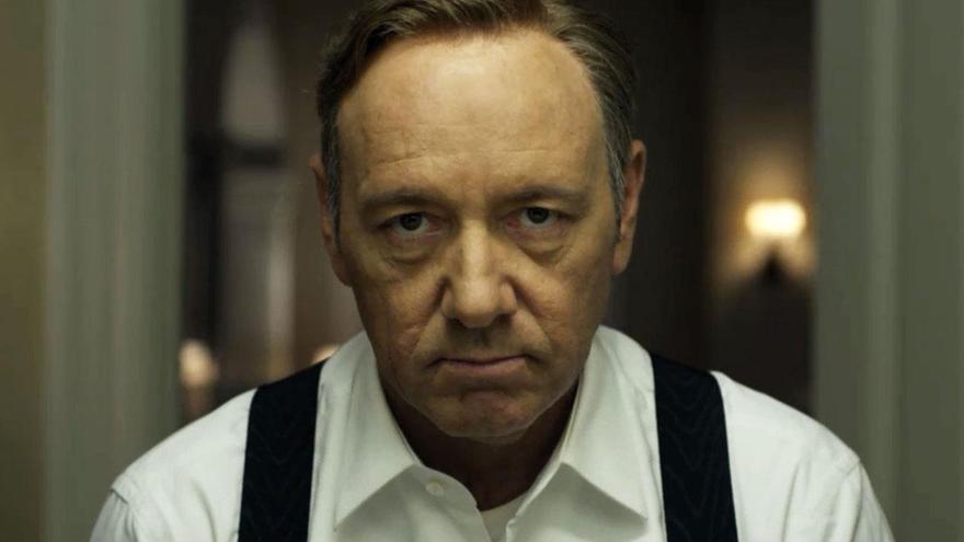 Kevin Spacey en una escena de 'House of Cards'.
