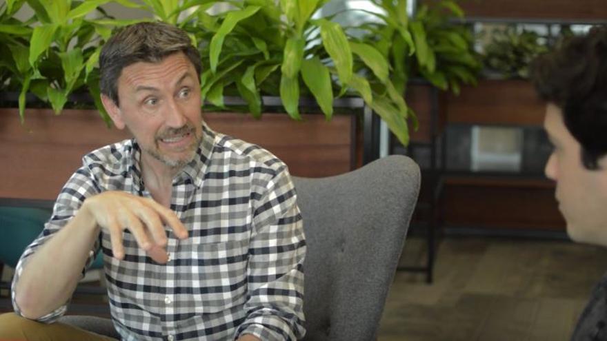 El neurocientífico español Mario Galarreta es uno de los responsables de cursos de meditación en Google
