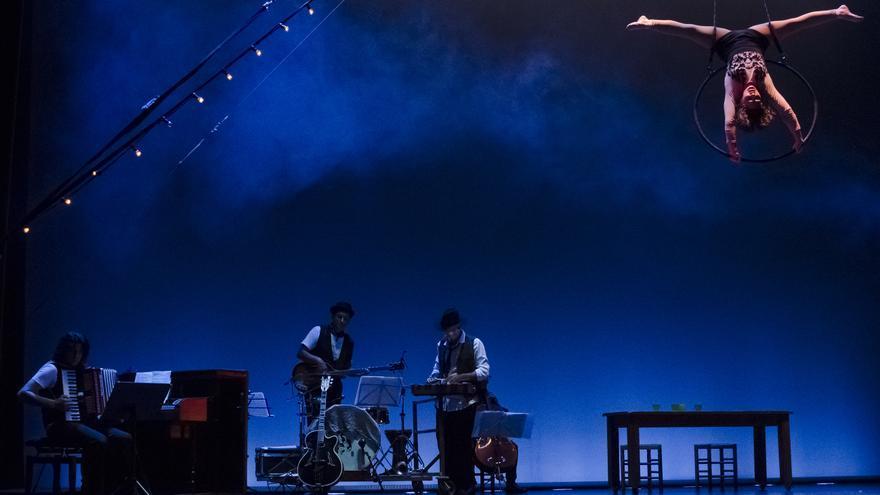 La compañía valenciana Circo Gran Fele vuelve por Navidad A Rambleta con 'El Tren'.