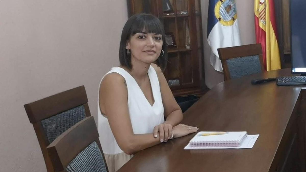 Patricia Hernández, concejal de Personal del Ayuntamiento de Fuencaliente.