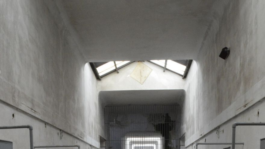 Una de las galerías de la antigua prisión de A Coruña