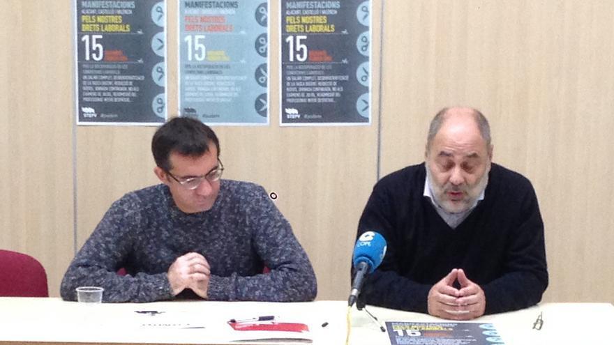 Representantes de Stepv presentaron en rueda de prensa la campaña contra la aplicación de la Lomce
