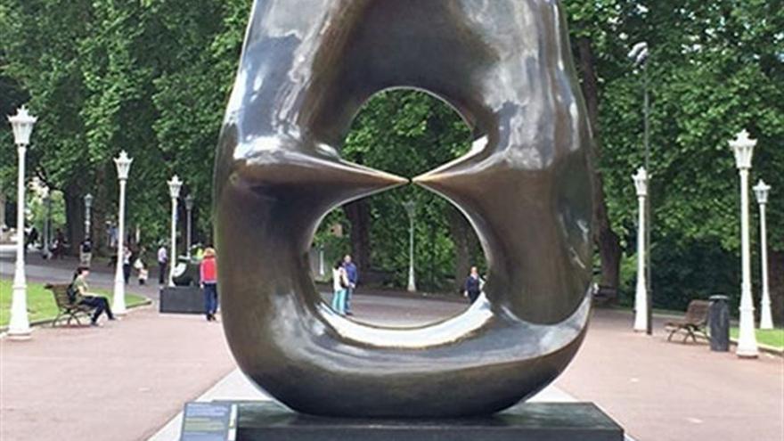 Una de las seis esculturas que se podrán ver en Santander