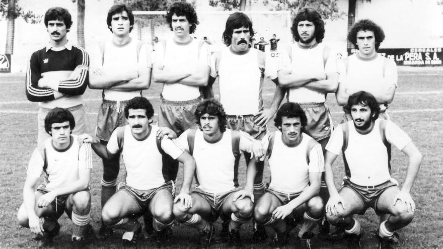 Formación del CD Tenerife de la temporada 1979/1980.