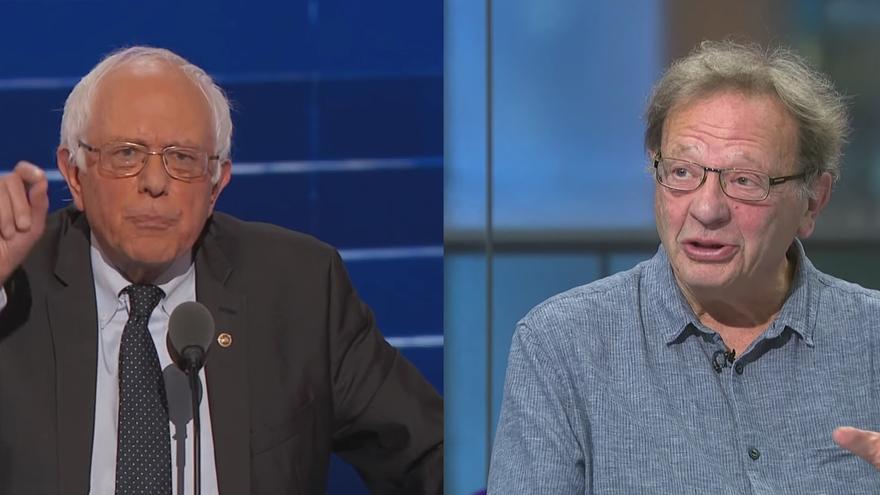 Bernie y Larry Sanders