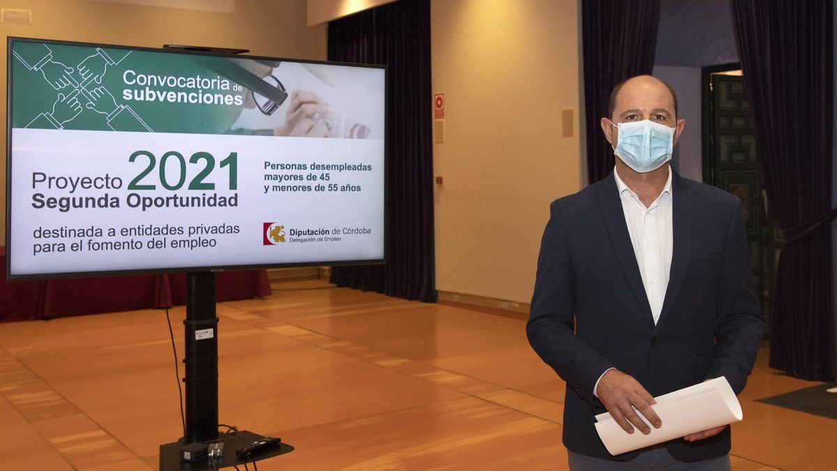 El delegado de Empleo, Miguel Ruz.