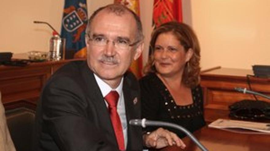 Cándido Reguera, alcalde de Arrecife.