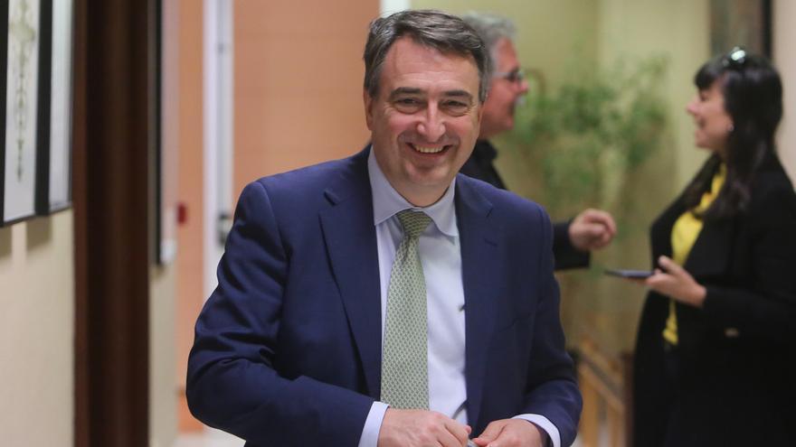 """Esteban (PNV) cree que Vox, Ciudadanos y el entorno de la IA """"han buscado la foto"""" de los incidentes en Euskadi"""