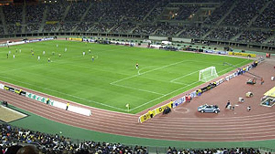 Estadio de Gran Canaria, el día en que se inauguró.