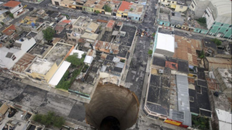 Tormenta 'Agata' en centroamérica