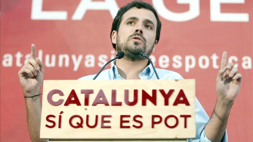 """Garzón (IU): """"Rajoy no entiende su letra, ni la Constitución que defiende"""""""