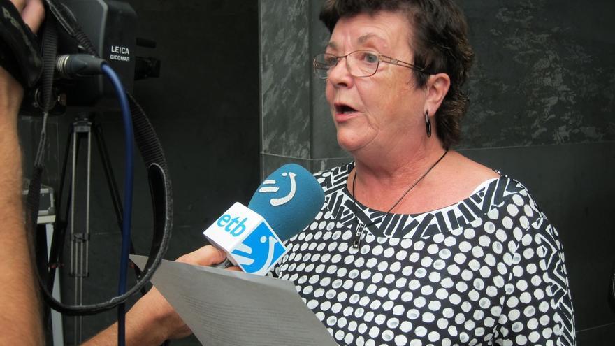 """Beaumont afirma que no tiene """"ninguna encomienda política"""" y pide que no se le juzgue por ser propuesta por Bildu"""