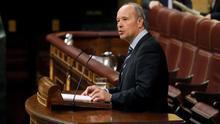 El ministro de Justicia, José Manuel Campo, en una comparecencia en el Congreso.