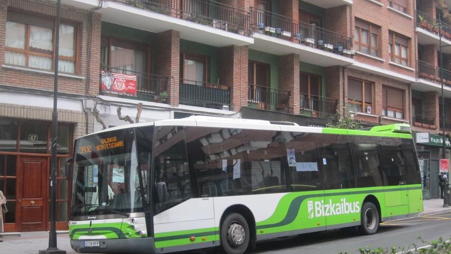 La Línea A3336 Bilbao-Muskiz incorporará este miércoles una nueva salida a las 7.15 horas desde la parada de Urioste