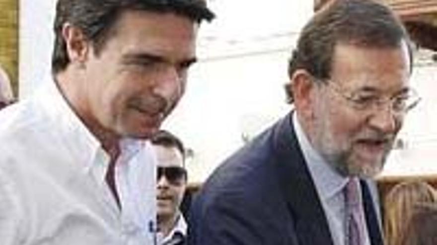 Soria y Rajoy.
