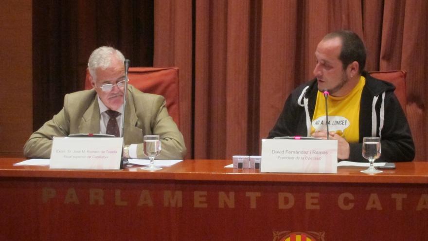 La Fiscalía defiende en el Parlamento catalán que es imparcial en la investigación del 9N