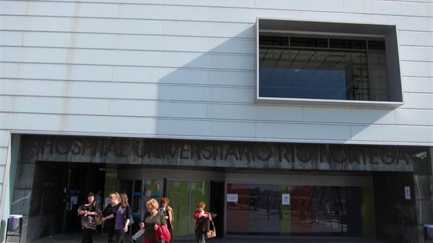 El Hospital Río Hortega de Valladolid, donde se encuentra hospitalizado el posible afectado.