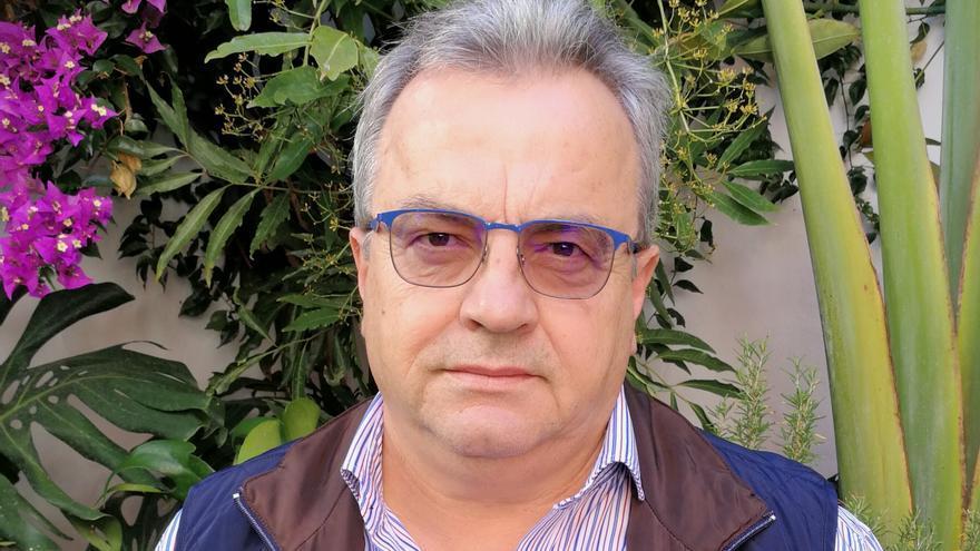 Miguel Ángel Pulido,  candidato de NC a la Presidencia del Cabildo de La Palma.