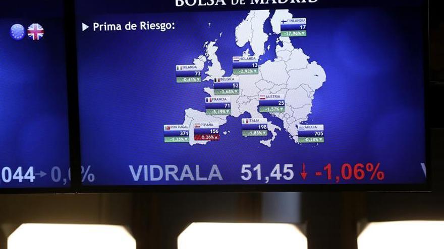 La prima de riesgo española se mantiene en 145 puntos pese a caer el bono
