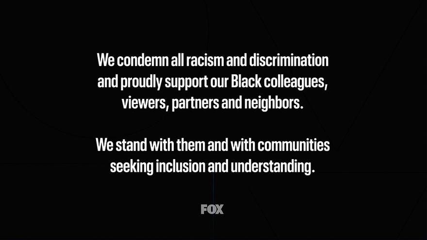 Mensaje de Fox en prime time