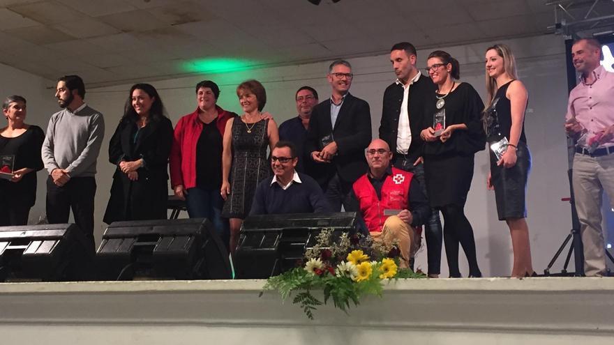 Acto de clausura de la 'V Copa Spar Pro NEP 2016'.