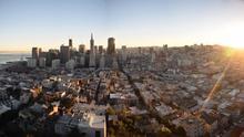 El Distrito Financiero de San Francisco desde Coit Tower. Ekaterina Valinakova