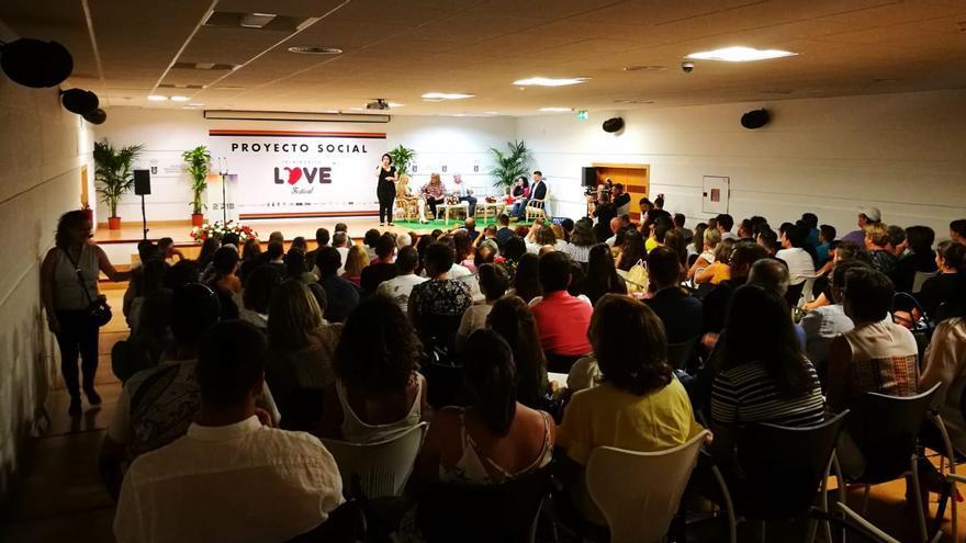 Imagen de archivo de la Convención Política y Social del Love Festival.