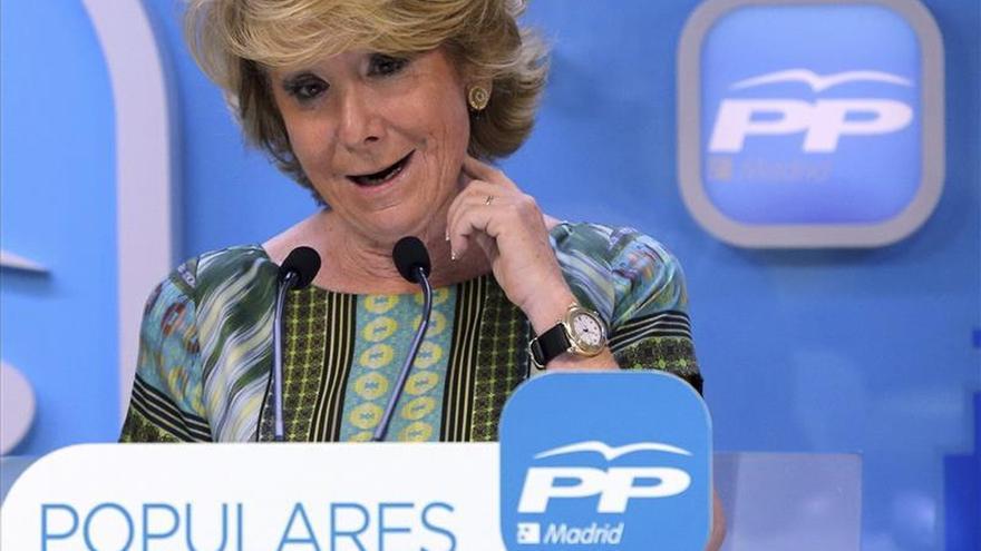 """Aguirre reclama a Carmena que """"erradique"""" el odio que se percibe en Madrid"""