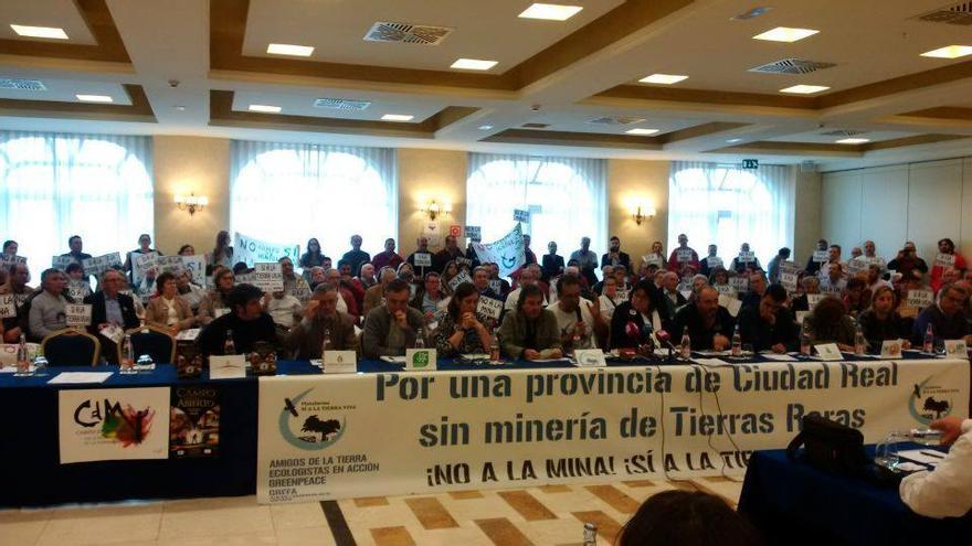 Rueda de prensa en Toledo de la Plataforma Sí a la Tierra Viva