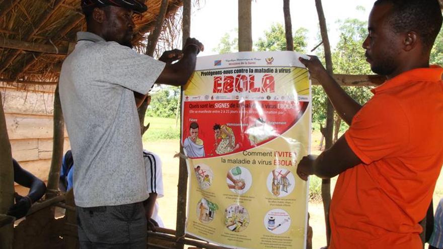 El nuevo brote de ébola continúa su avance en la zona en conflicto de RD Congo