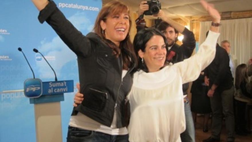 Alícia Sánchez Camacho Y Mònica Querol (PP)