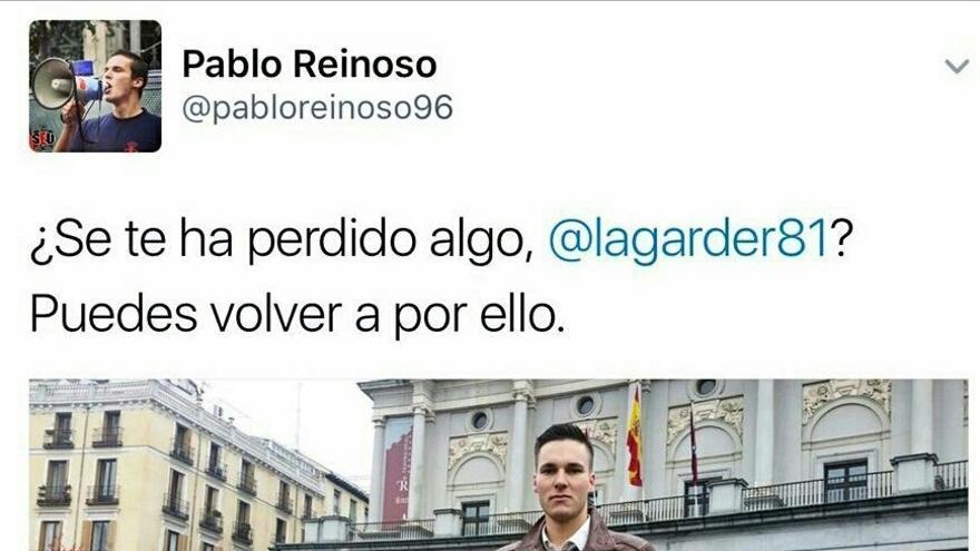 Ningún detenido por la agresión al activista que protestó contra la manifestación franquista