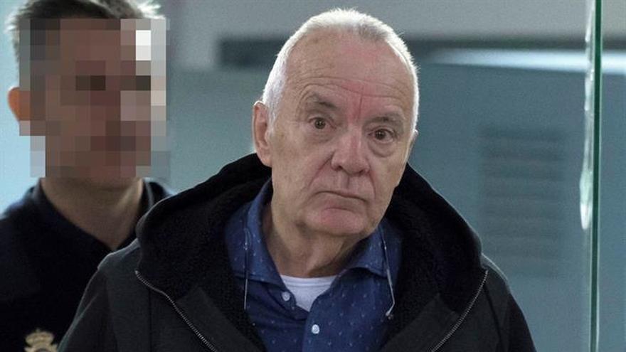 El empresario Bartolomé Cursach, principal acusado en la causa, en su llegada a los juzgados el pasado lunes