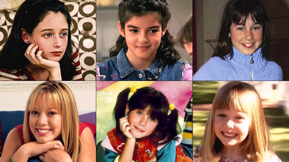 """El Día Internacional de la Niña, con seis actrices que han """"crecido"""" en TV"""