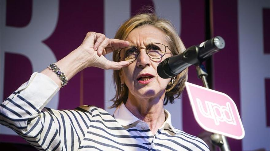 """Rosa Díez, convencida de que tras 24M """"se abrirá la luz"""" en Gobierno andaluz"""