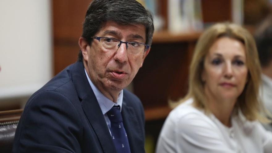 """Marín resta importancia a las dimisiones y defiende que Cs está """"en el centro político"""" y """"mantiene sus compromisos"""""""