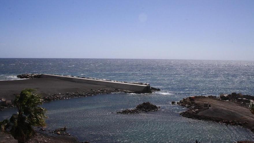 En la Imagen, uno de los diques de la playa que podrán ser usado como paseo.