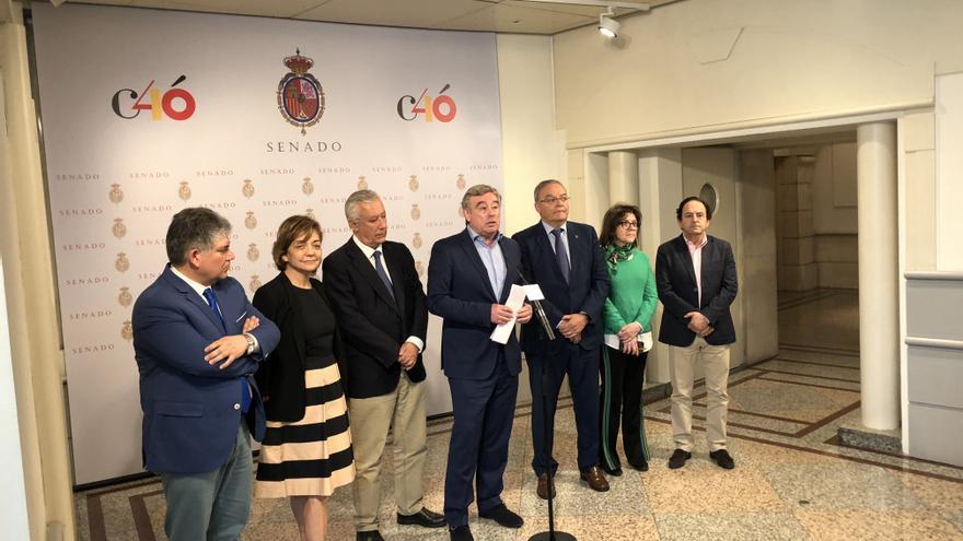 Miembros del Grupo Popular del Senado.