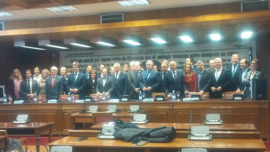 Constituido el Grupo Territorial de senadores del PP por Castilla y León, el primero de la XII Legislatura