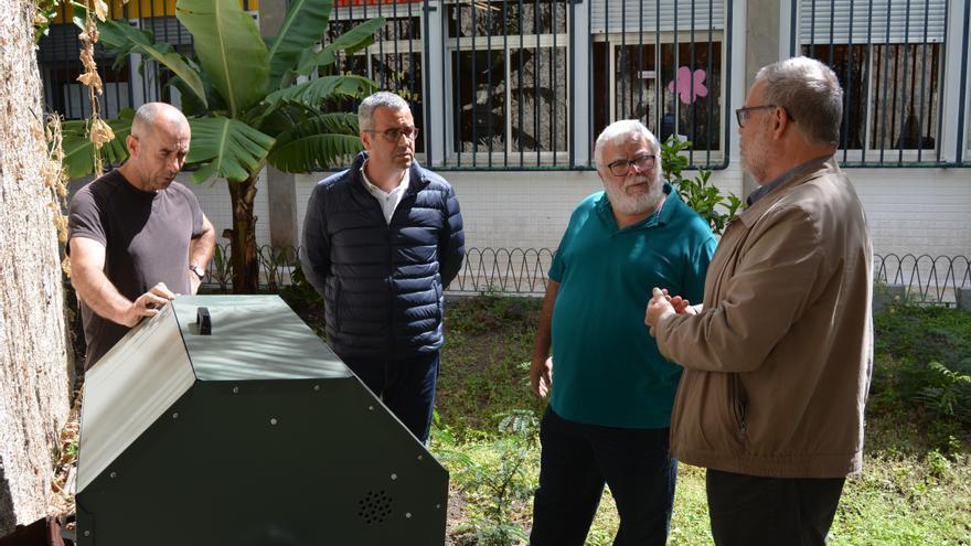 Acto celebrado en el CEIP Benahoare de Santa Cruz de La Palma.
