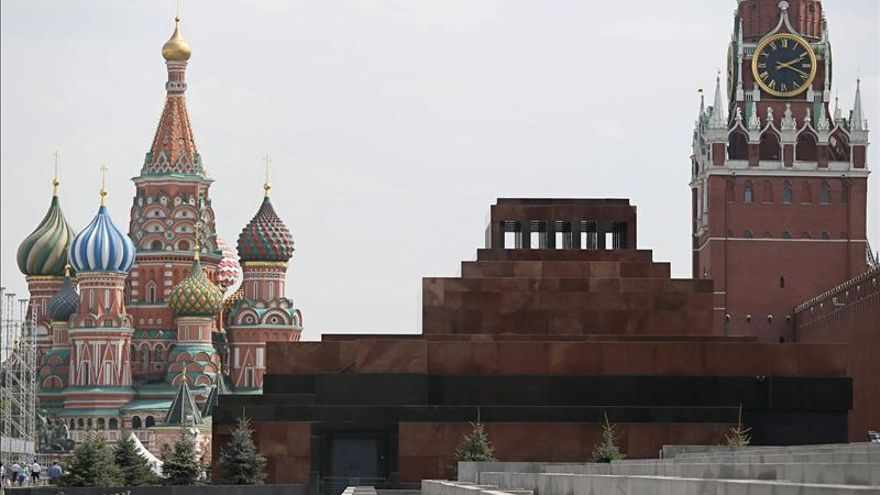 La URSS decretó la retirada de la momia de Lenin de la Plaza Roja en 1953