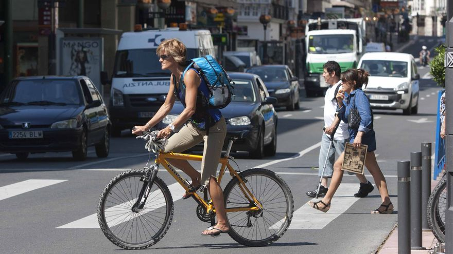 La bicicleta se está haciendo un hueco en las ciudades.