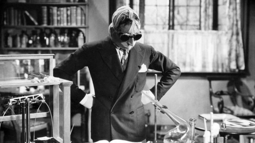 'El hombre invisible', 1933