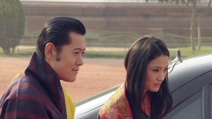 Los reyes de Bután esperan su primer hijo y heredero al trono