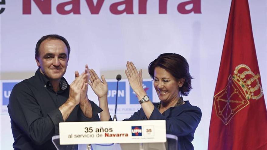 Barcina insta la unidad en UPN y llama a ser un dique frente a los populismos