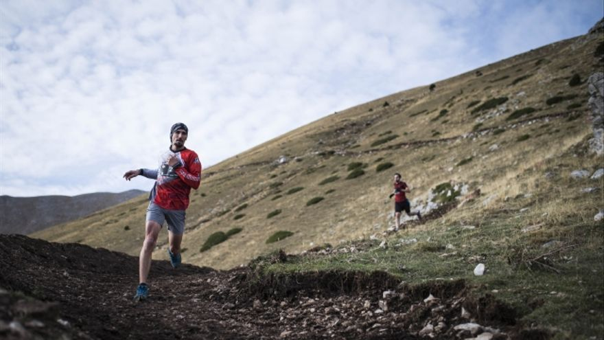 Biel Ràfols, ganador de la Fly Running La Molina (© Fly Running / Sergi Colomé).